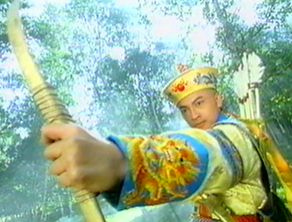 a bonus pic of myself... ;) j/k just to give you some idea of the wuxia shows that I love